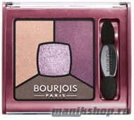 Bourjois 039015 Тени для век Smoky Stories, тон 15 Brilliant Prunette - фото 103991
