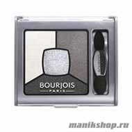 Bourjois 039001 Тени для век Smoky Stories, тон 01 grey and night - фото 33305