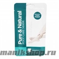 58622 Маска-носочки для ног Natural and Pure Foot Care Mask 1пара - фото 47903