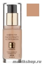 "MaxFactor  Тон.основа  ""Facefiniti All Day Flawless 3in1""  тон 77 soft honey 30мл - фото 64714"