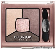 Bourjois 039002 Тени для век Smoky Stories, тон 02 over rose - фото 70342